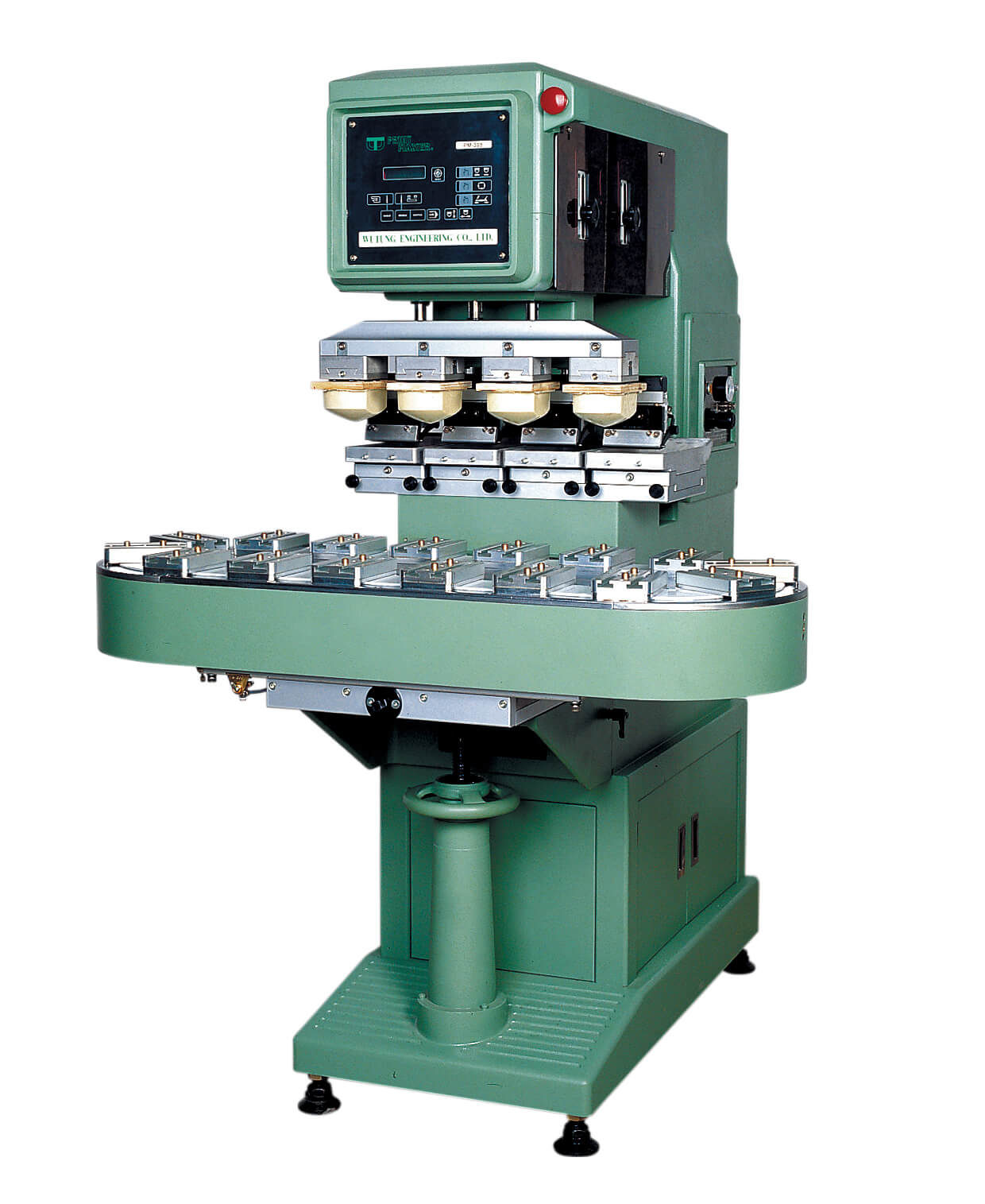 PM-398 4-color pad printing machine–Wutung Holding Co , Ltd